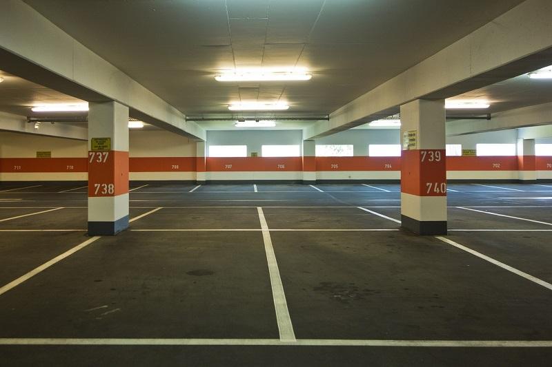 Car Park Markings.
