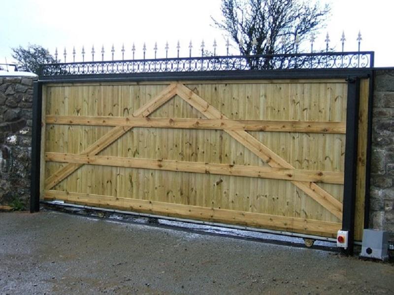 Sliding Security Gates