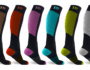 Win the race with mens knee high compression socks!