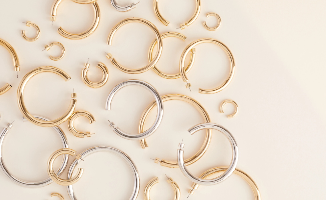 The Cool 14K Gold Hoop Earrings You Will Want to Try Next!